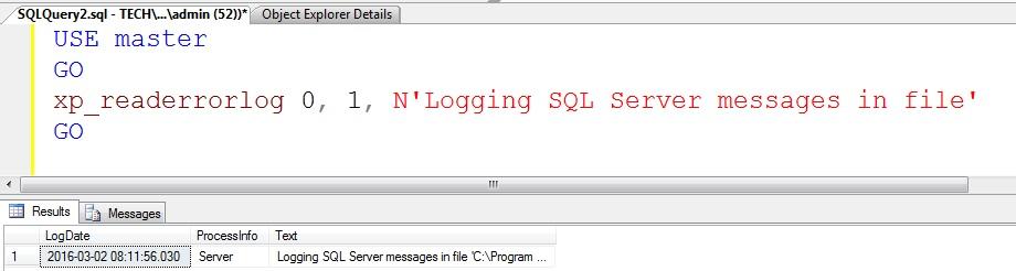 sql-server-management-studio